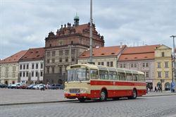 Autobus Karosa ŠM 11 č. 135 z roku 1973